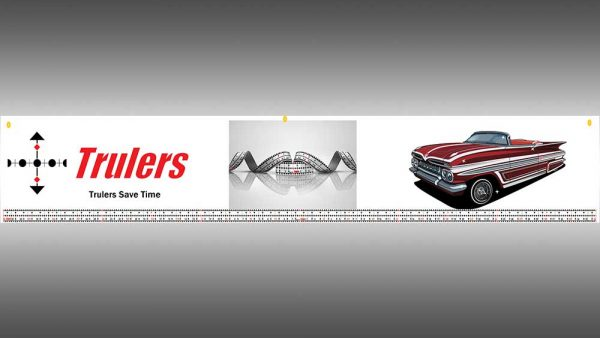 Trulers 1 by 6 banner