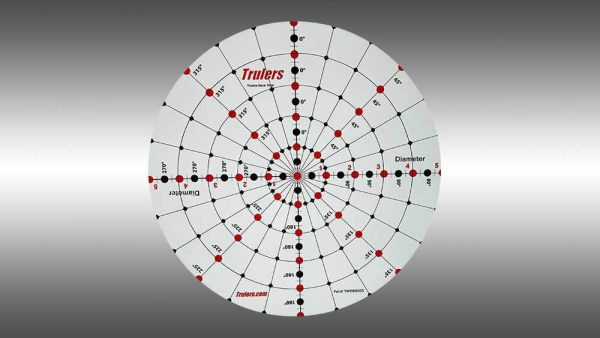 Trulers 5 inch circle magnet TW080505